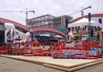 Pallet Plastik Mahkotapallet di Java Jazz Festival Jakarta