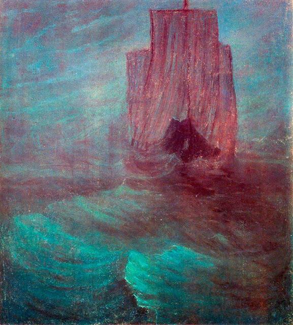 Чюрлёнис Микалоюс Константинас - Корабль. 1906