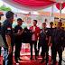 Fbi Bandung barat menyambut dan memeriahkan hari Anti korupsi sedunia.