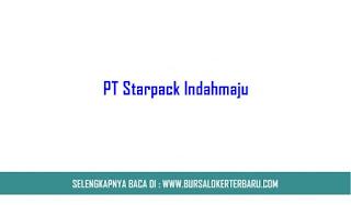 PT Starpack Indahmaju