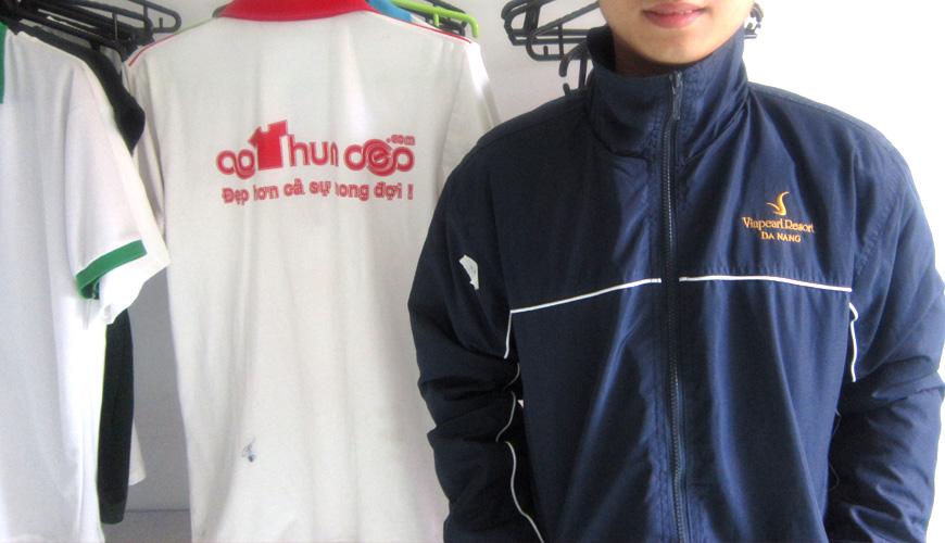 Vinpearl Resort tại Đà Nẵng đã đặt hàng áo gió