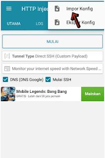 Config Smartfren 4G
