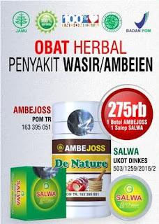 Obat Wasir De Nature Asli Dan Ampuh
