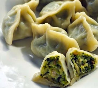 Mushroom Dumplings from South Africa Recipe and Ingredients.
