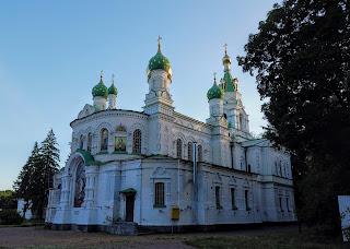 Полтава. Вул. Шведська Могила. Свято-Сампсоніївська церква. 1852 р.