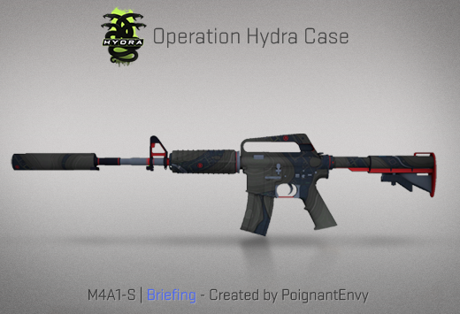 Operation Hydra Case - M4A1-S | Briefing