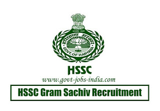 HSSC Gram Sachiv Recruitment 2020
