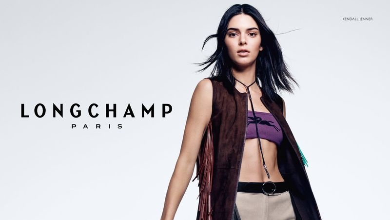 Kendall Jenner stars in Longchamp spring-summer 2019 campaign