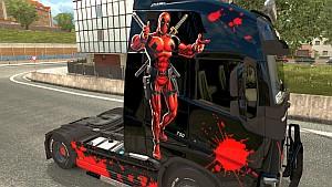 Volvo 2012 Deadpool skin updated