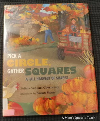Pick a Circle, Gather Squares book cover