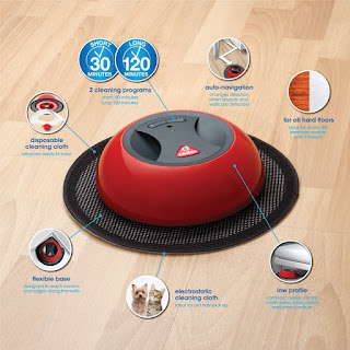 Image: The innovative O-Duster Robotic Floor Cleaner makes your life easier with faster and simpler floor dusting title=