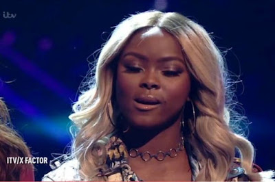 X-Factor-Gifty-appears-to-swear-as-Sam-Lavery-goes-through