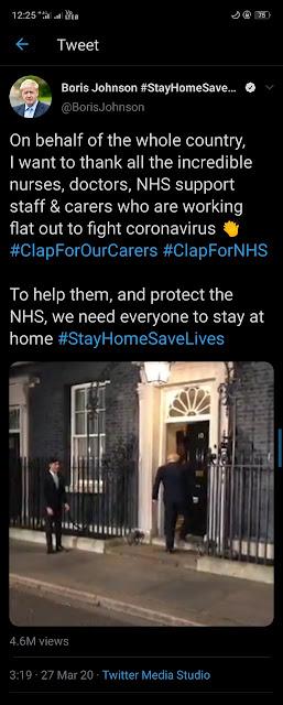 Clap For Our Carers, Tradisi Menarik di UK Hargai Tenaga Medis