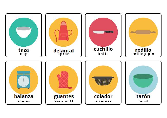 kitchen in Spanish
