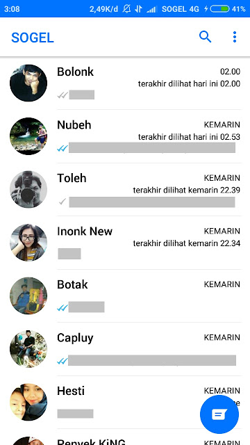 Screenshot WA Mod iPhone