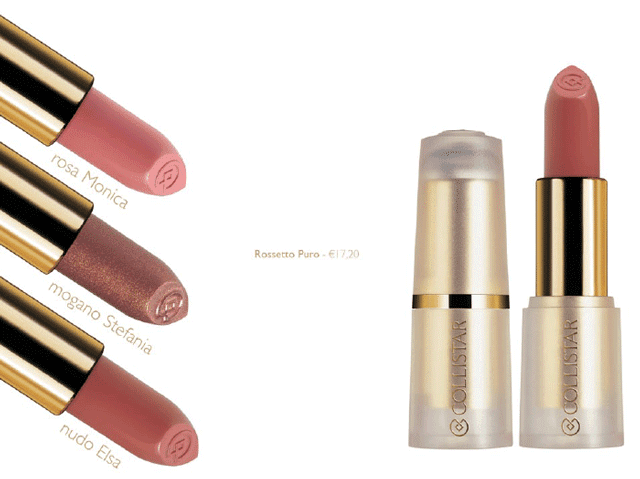 bellezza italiana - rossetto-puro collistar