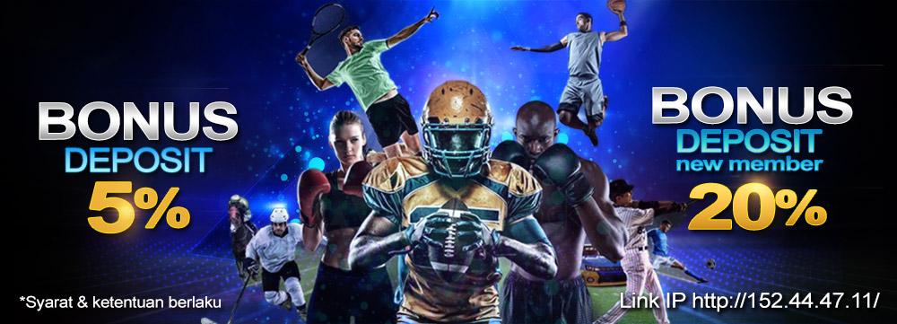 agen judi bola online terpercaya bonus deposit setiap hari