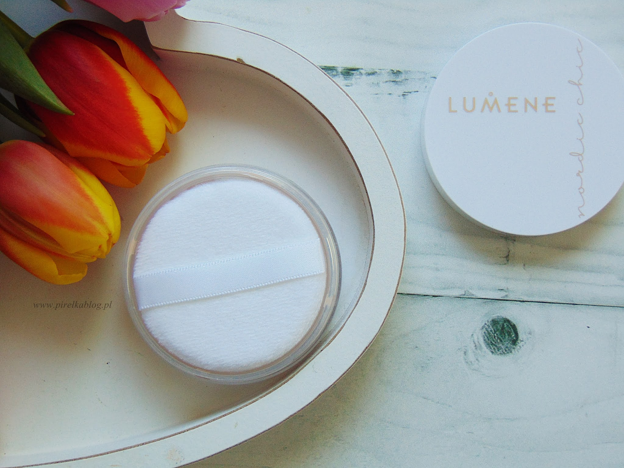 Lumene - Nordic Chic puder sypki transparentny