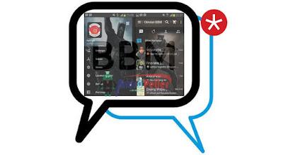 BBM Mod Tema Black Panther v2.13.1.14 Apk Terbaru
