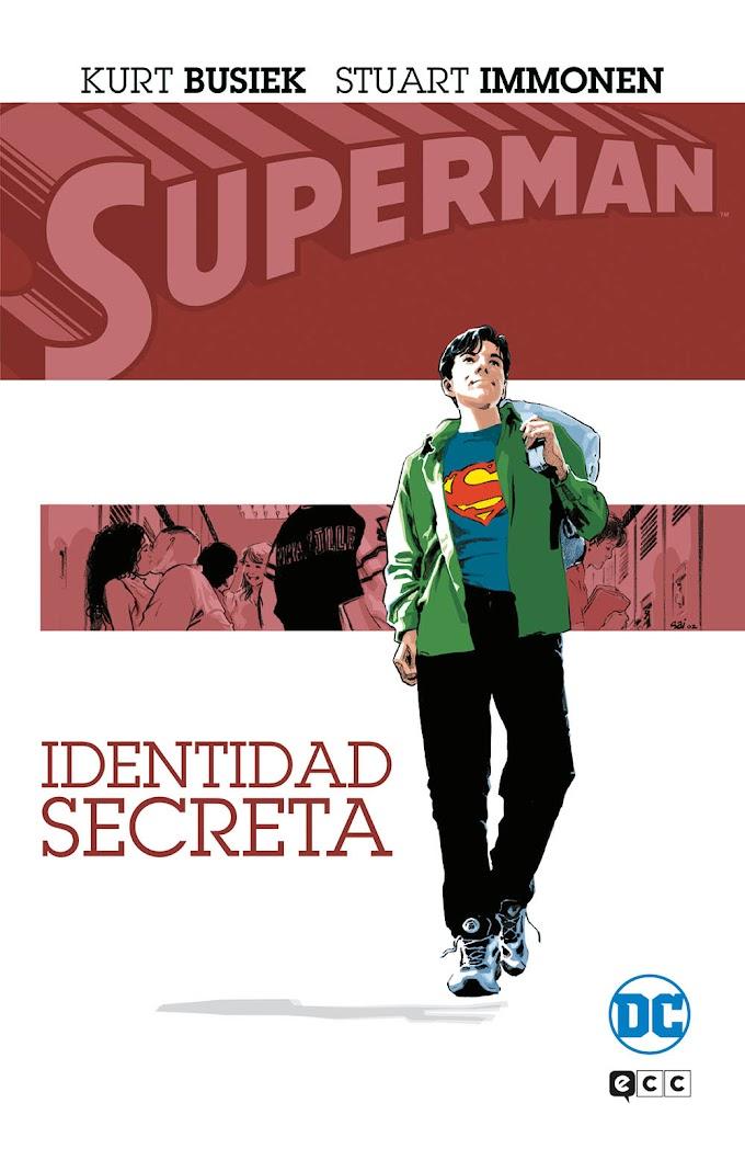 """Cómic reseña: """"Superman: Identidad Secreta"""" de Kurt Busiek y Stuart immonen. Editado por ECC Comics."""