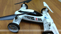 SongYang X25-1 Flying Quadcopter Car X25B
