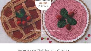 2 Agarraderas muy originales / Patrones crochet