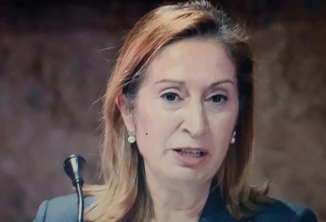La expresidenta del Congreso Ana Pastor confirma su positivo por coronavirus