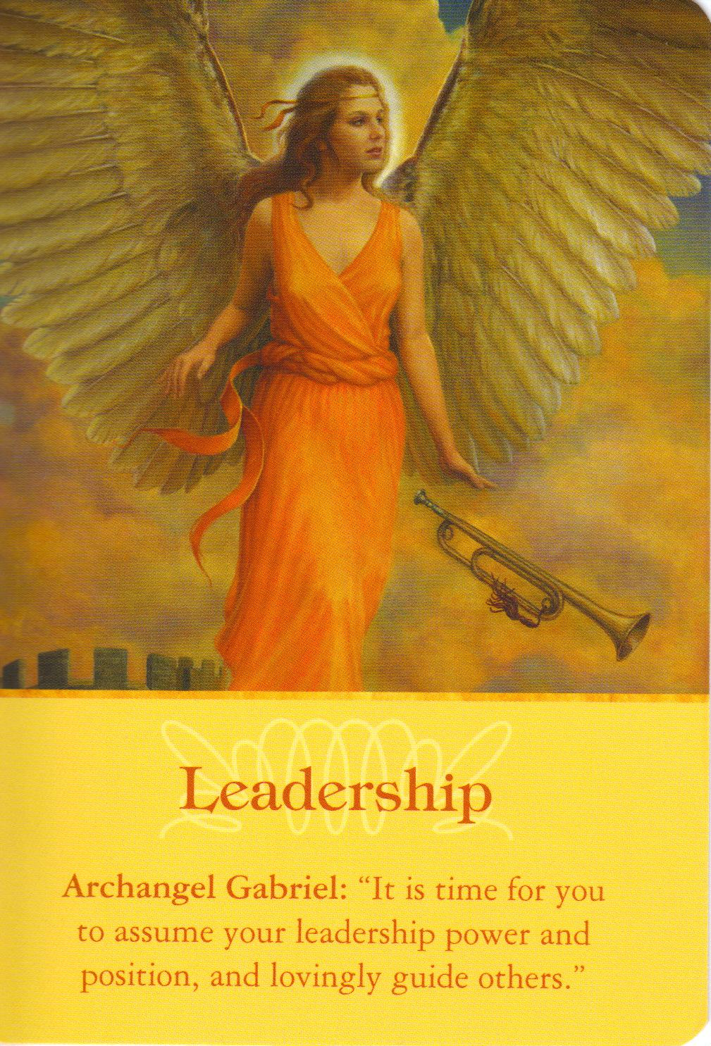 Archangel Oracle Divine Guidance: Got Angel? : Archangel Oracle Card For 5-10-13 Leadership