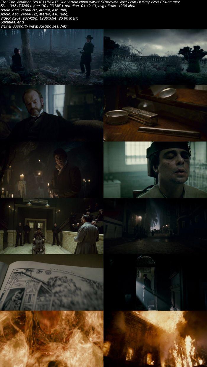 The Wolfman (2010) UNCUT Dual Audio Hindi 480p BluRay 300MB Movie Download