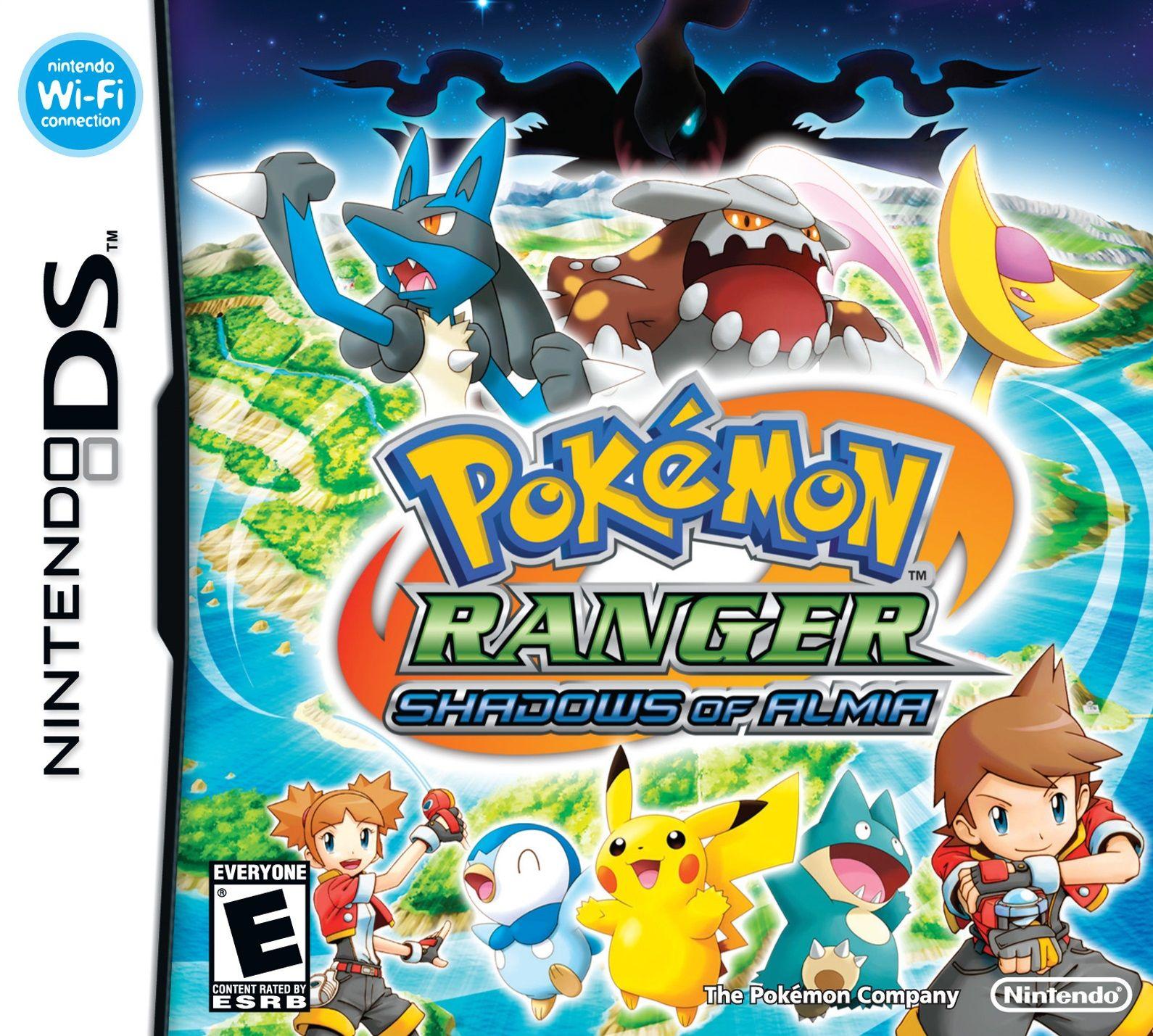 Pokémon Ranger Shadows of Almia ROM DS