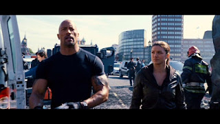Dwayne 'The Rock' Johnson and Gina Carano