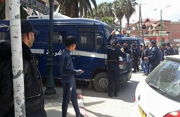حبس 26 شاب بعد مقابلة شبيبة سكيكدة وأولمبي الشلف