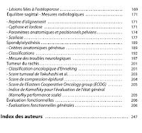 Classifications et scores en chirurgie orthopédique et traumatologique I. Hanche, Genou, Rachis 4