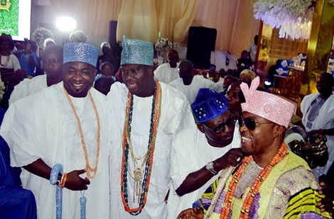 Photo Of Oba Elegushi, Ooni Of Ife & Oluwo