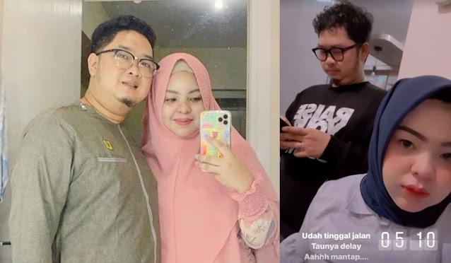 Sebelum Terbang Naik Sriwijaya SJ182, Putri Wahyuni Unggah Foto Pernikahan dan Tulis Status Ini