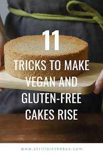 tricks cakes rise glutenfree
