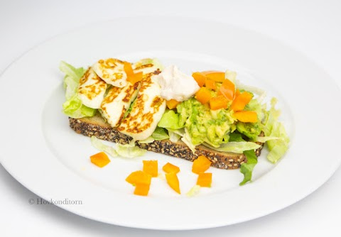Avokado Halloumi Sandwich