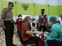Vaksinasi Serentak di LPP Yogyakarta