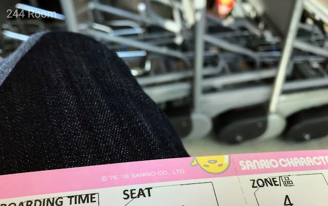 エバー航空なかよしジェットチケット(ぐでたま)