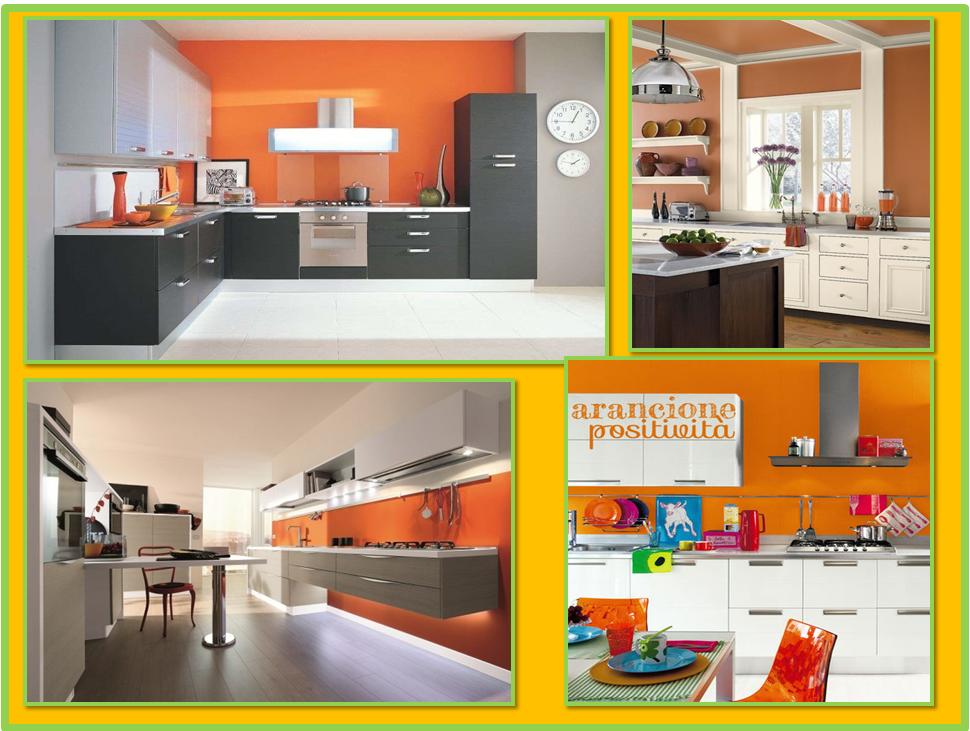 Colore Pareti Cucina Gialla: Pareti Cucina Gialle: cucina a righe le con colo...