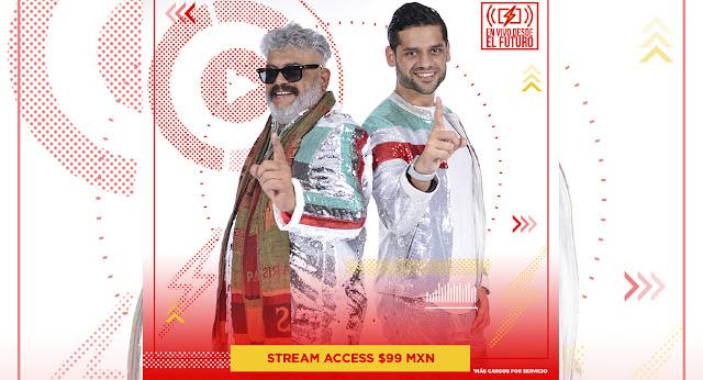 Mi Banda el Mexicano de Casimiro llega en formato virtual a Streamtime