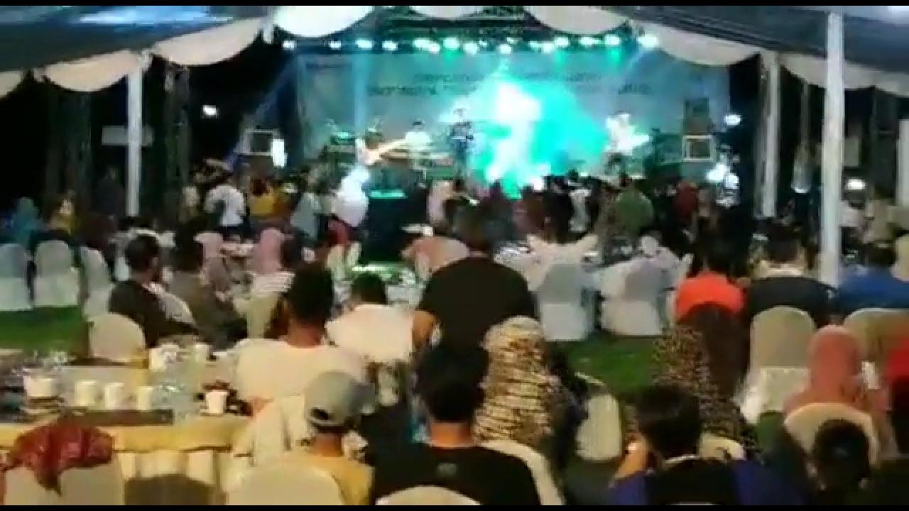 Innalillahi... Detik-detik Gelombang Tsunami Selat Sunda Terjang Konser Musik