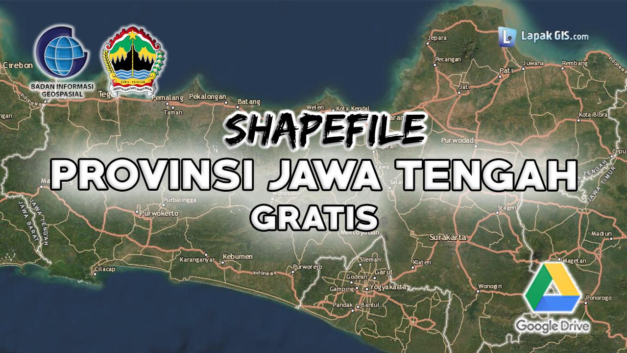 Shapefile Provinsi Jawa Tengah