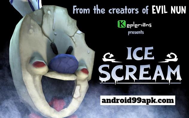 لعبة Ice Scream v1.1.0 مهكرة للأندرويد