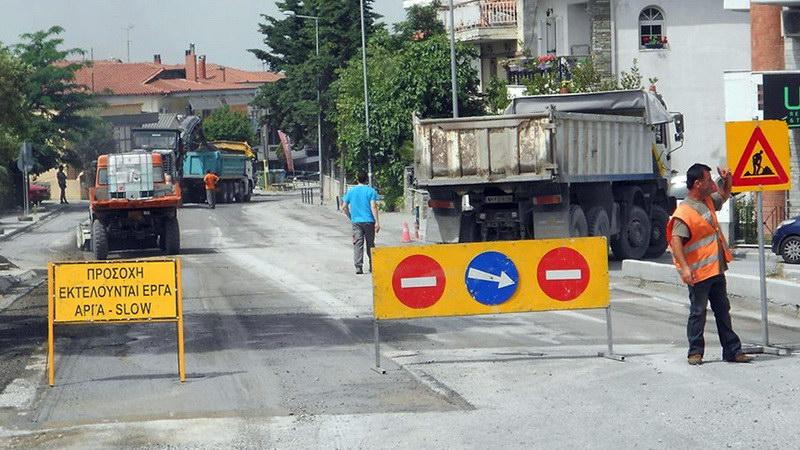 Αλεξανδρούπολη: Έκτακτες κυκλοφοριακές ρυθμίσεις λόγω διαμόρφωσης κόμβων επί της οδού Κονδύλη