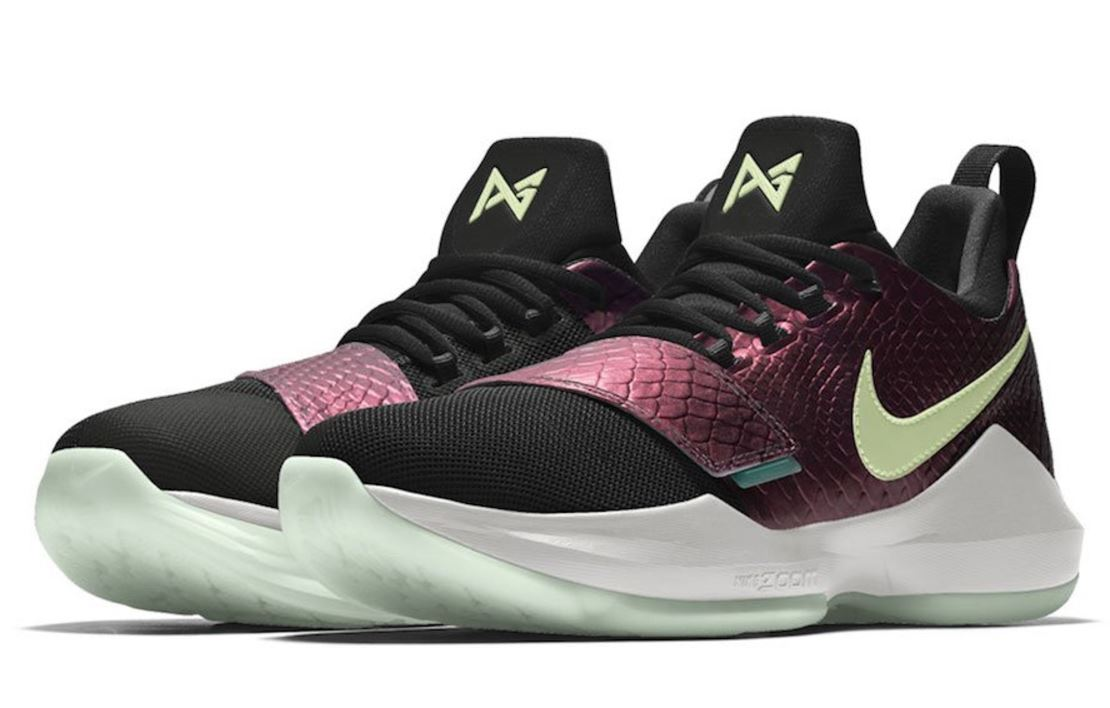 reputable site df89c e8c26 THE SNEAKER ADDICT: Paul George's Nike PG 1 Available on NIKEiD