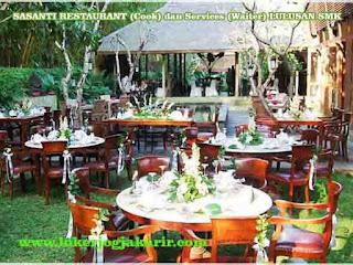 SASANTI RESTAURANT (Cook) dan Services (Waiter) LULUSAN SMK
