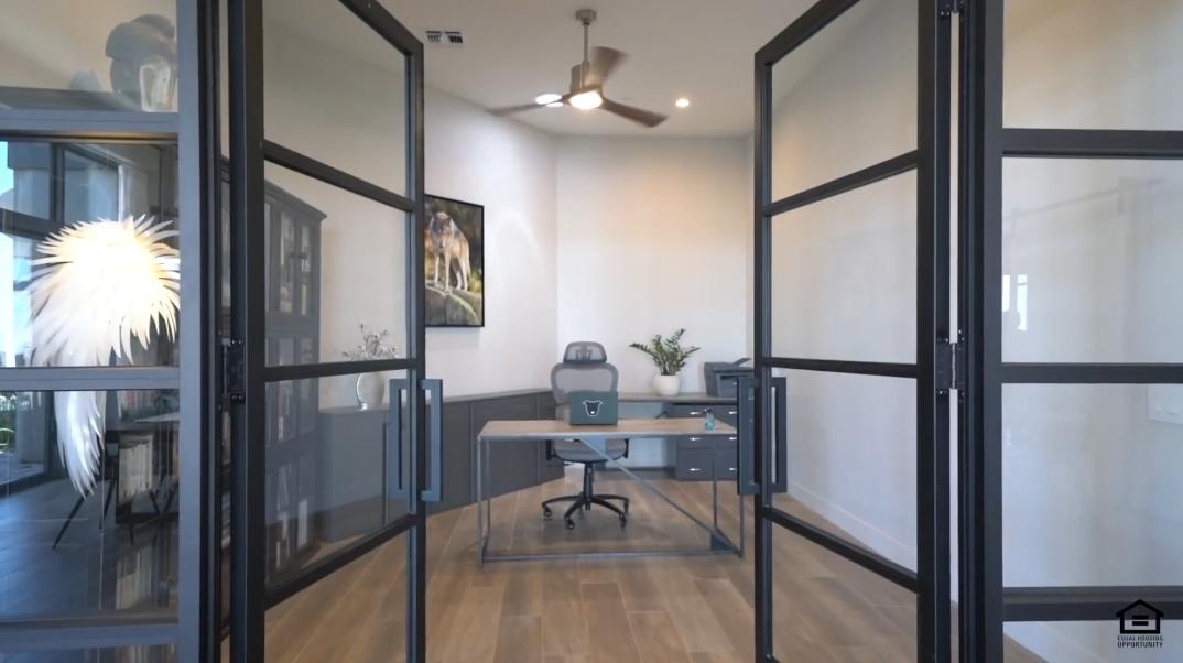35 Interior Photos vs. 11105 N Arista Ln, Fountain Hills, AZ Luxury Contemporary House Tour