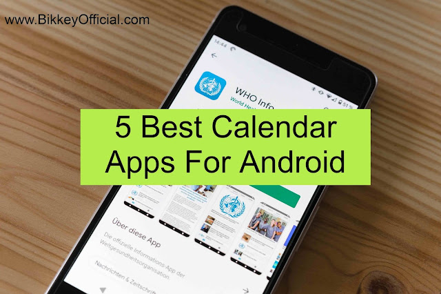5 Best Calendar Apps For Android
