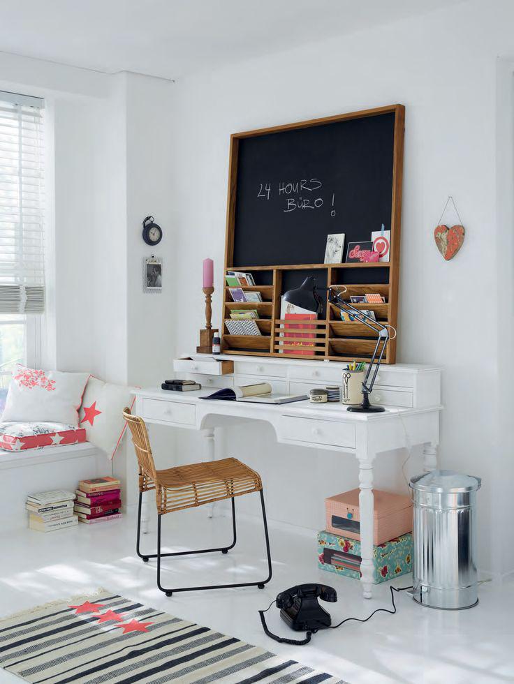 Home office clean  Decor Alternativa
